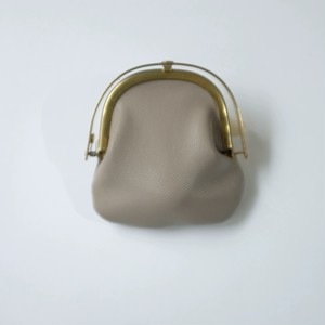 iremono - がま口 - gr - sheep leather