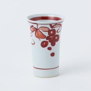 フリーカップ(朱ぶどう)