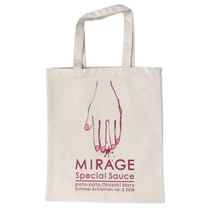 MIRAGE TOTE BAG PINK