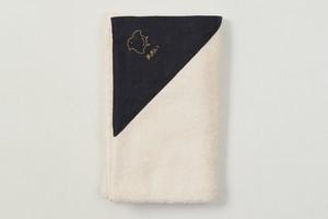 バスタオル 背守り刺繍【千鳥】