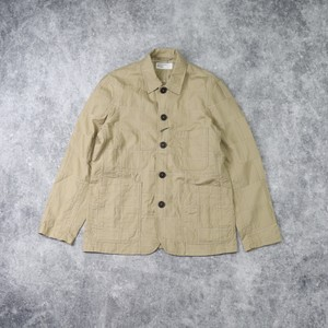 "【Universal Works.】 BAKERS JACKET  ""TAN""  Patchwork Fine Twill  ユニバーサルワークス"