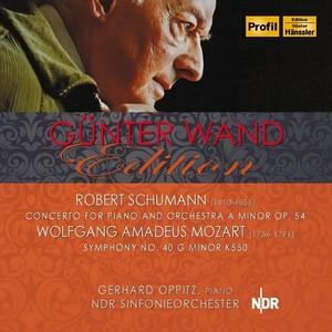 [中古CD] シューマン:ピアノ協奏曲モーツァルト:交響曲第40番 オピッツ&ヴァント/北ドイツ放送交響楽団