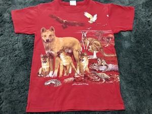 オーストラリア製 動物 アニマル 大集合 Tシャツ