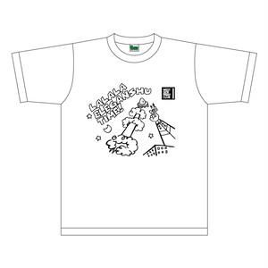 「ラララ・エレガンシュタイム」オリジナルTシャツ 白