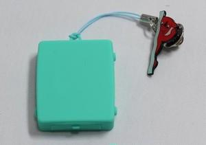 """触感時計""""タックタッチ"""" ストラップ型 ハテルマ・マリンブルー 針も文字板も表示も音も無い、触感(振動)で時刻を伝える全く新しい感覚の時計です。"""