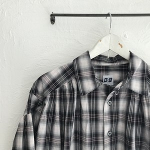 AiE(エーアイイー)2020SS Painter Shirt-Shadow Plaid