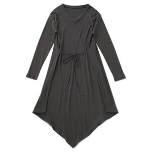 BLACK BY MOUSSY /2way drape tereco one-piece【070DS383-0320】