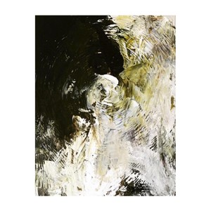 title: abstract painting (White rose II) tmap-003
