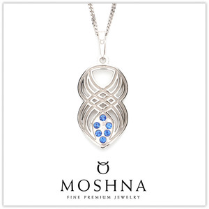 【MOSHNA:モシュナ】Interlace ブルーコレクション