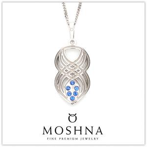 【MOSHNA:モシュナ】Interlace ブルーコレクション