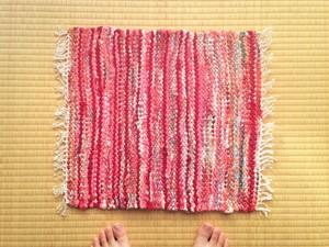 裂き織りマットB