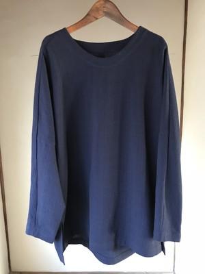 YANTOR    Amunzen Long Pullover  Navy