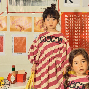 «sold out» mini ps market  naname border onepiece ナナメボーダーワンピース