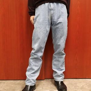 Levi's 505 denim pants made in USA W34L32