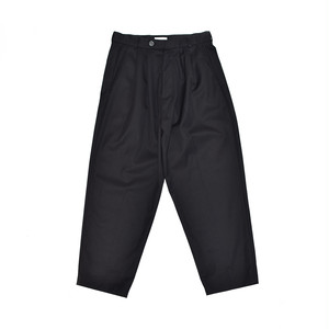"""Lownn """"Oro"""" Double Pleated Wide Trouser Black  LOW-19SS-ORO"""