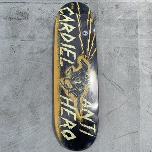 Anti Hero / CARDIEL / CHARGED UP / PRO ONEOFF / HUFFER SHAPE / 9.18x32.62inch (23.3x82.8cm)