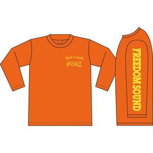 Freedom Sound Long Sleeve(Orange/Yellow)