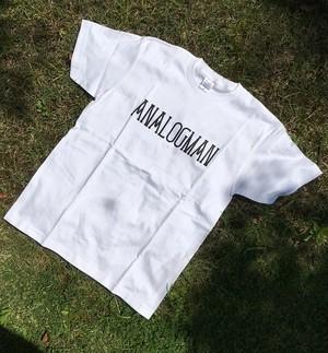 アナログマンTシャツ2016 ホワイト