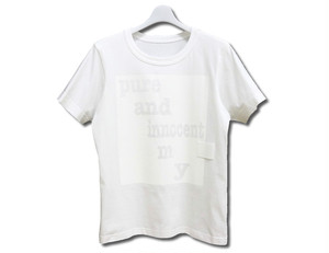 Paimy_17SS_Pure and innocent_Tシャツ/ホワイト
