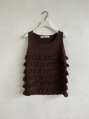 Bilitis dix-sept ans  Frill Sleeveless Knit