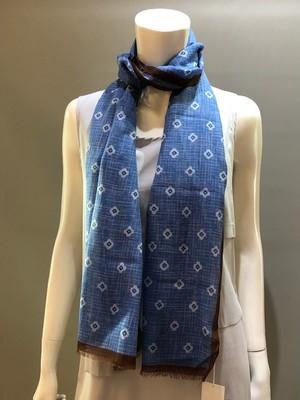 LARIOSETA(ラリオセタ)OF421/82160 Col.503 コットンジャガード織りスカーフ