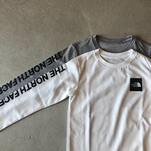 THE NORTH FACE【L/S Square Logo Tee】