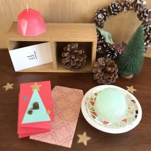 【限定】クリスマスキャンドルセット☆