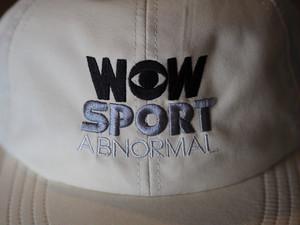 WOW SPORT CAP クリーム(送料込み)