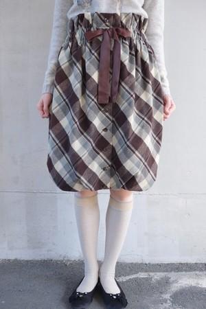G I F T skirt.