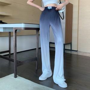 【ボトムス】INS ファッション ハイウエスト シンプル 春夏 グラデーション色 快適カジュアルパンツ48749606