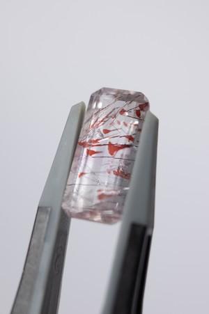 Lepidocrocite in Quartz  - 015