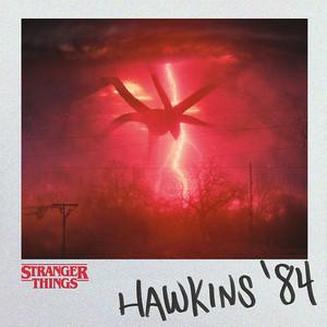 キャンバスアートセール中32%OFF!!  ストレンジャーシングス  キャンバスアート Stranger Things (Hawkins 84) PDC91593