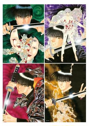 楠桂『鬼切丸』展 A4ミニポスターセット