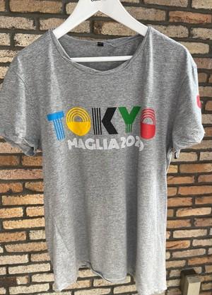 MAGLIA(マリア)TOKYO MAGLIA クルネックGRAY アスリートフィット
