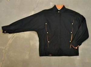 Snap button design dolman sleeves blouse [O-443]
