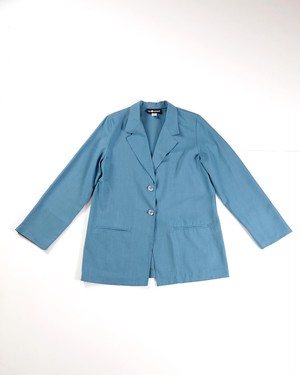 Unconstruction rayon jacket(Blue)