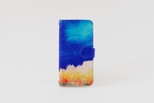 手帳型iPhoneケース「森と、夜空」