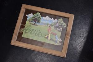 Vintage Levi's Frame Box-Garden
