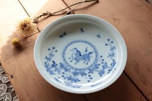 石川理恵 5寸皿【馬】
