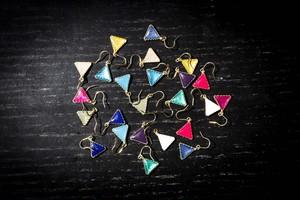 三角ピアス (14kgf)