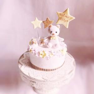 出産祝いその他お祝いクレイケーキ