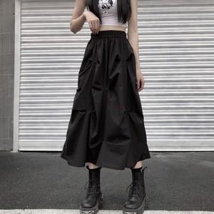 【ボトムス】レトロすね丈ハイウエストAラインマキシ 丈スカート30574833