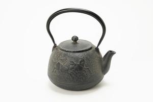 南部鉄器 鉄瓶 宝珠馬 1.5L