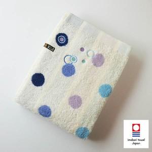 タントロドットバスタオル/ブルー