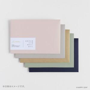 宛名シール付きカラー封筒(洋1)/10枚