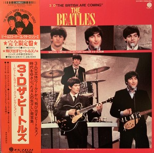 【LP】BEATLES/3D The British are Coming