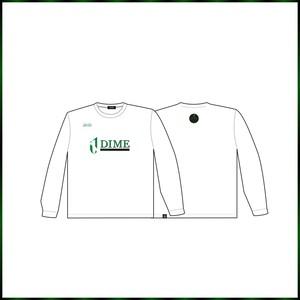 TOKYO DIME 「セカンダリーロゴ」ロングTシャツ WHITE