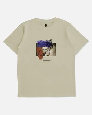 POETIC COLLECTIVE Half & Half T-shirt L