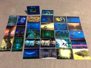 【再販売】縄文じいさんポストカード作品集 27枚入り