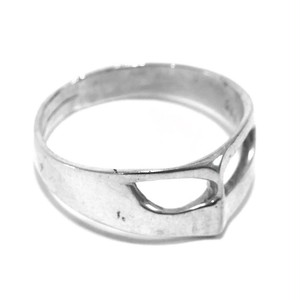 Vintage Sterling Silver Mexican Mask Ring